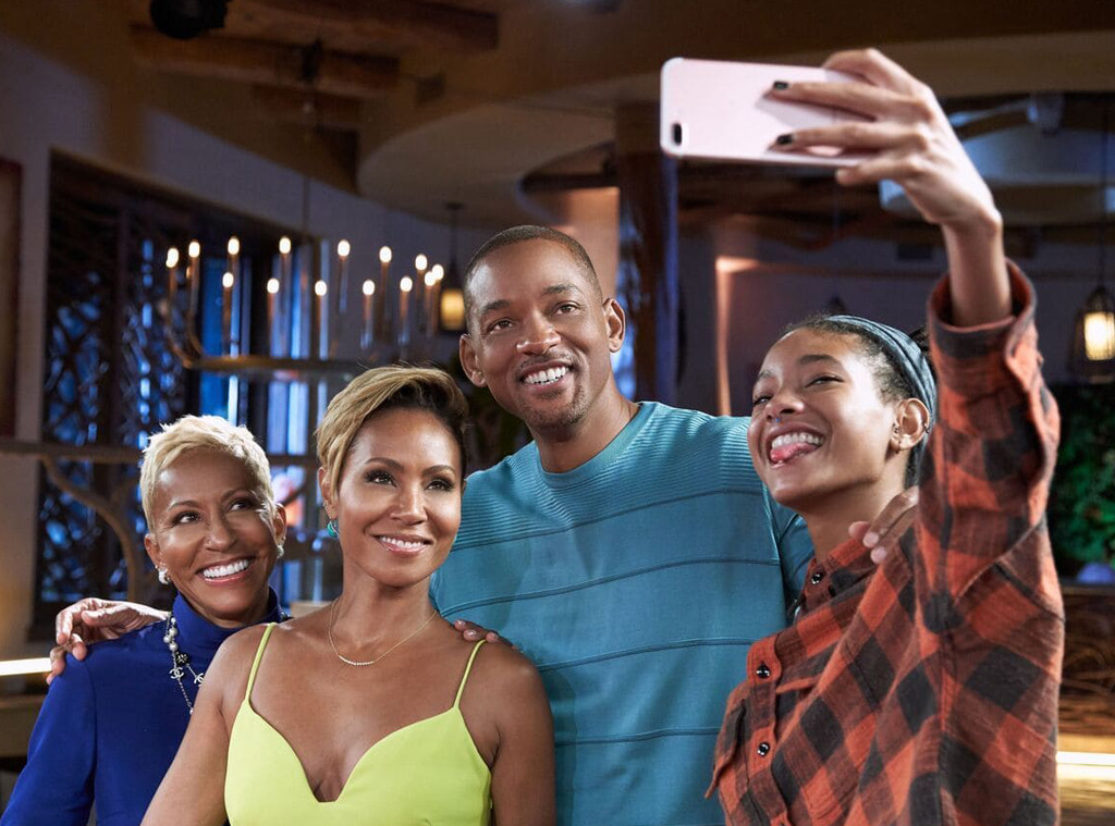 Will Smith, Jada Pinkett Smith, Willow Smith, Adrienne Banfield-Norris, Red Table Talk