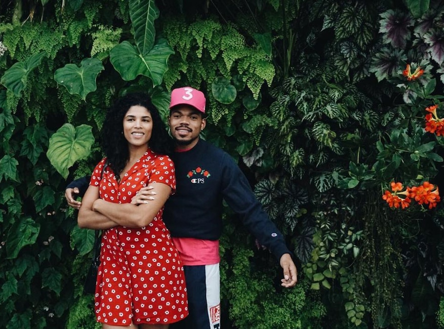 Chance the Rapper, Kirsten Corley, Instagram
