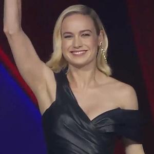 Brie Larson, Captain Marvel Singapore Premiere