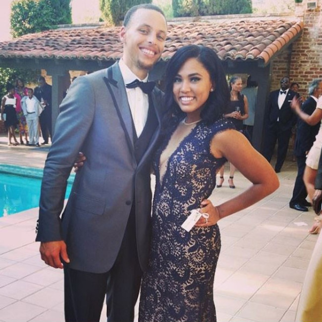 Stephen Curry, Ayesha Curry