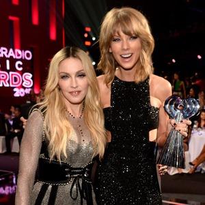Madonna, Taylor Swift, iHeart Radio Awards