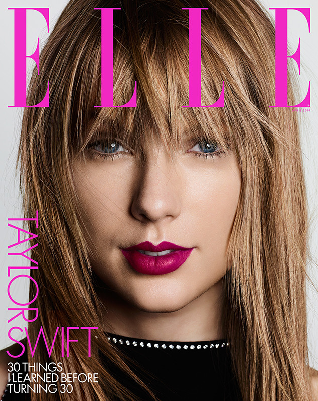 Taylor Swift, Cover, Elle Magazine