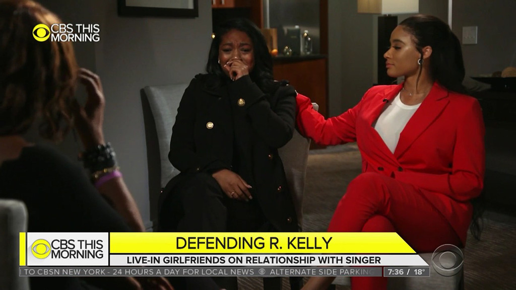 Azriel Clary, Joycelyn Savage, CBS This Morning, R. Kelly Interview
