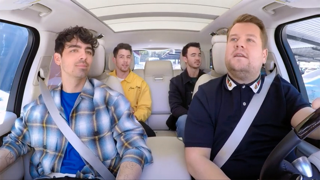 Carpool Karaoke, Jonas Brothers