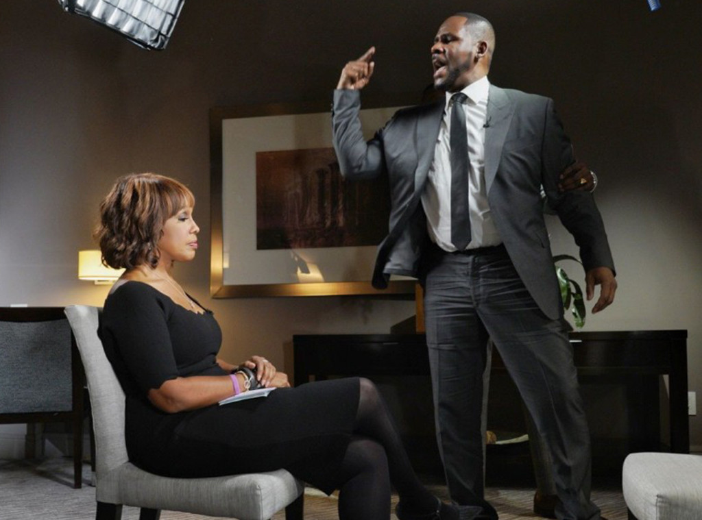 Gayle King, R. Kelly, Interview