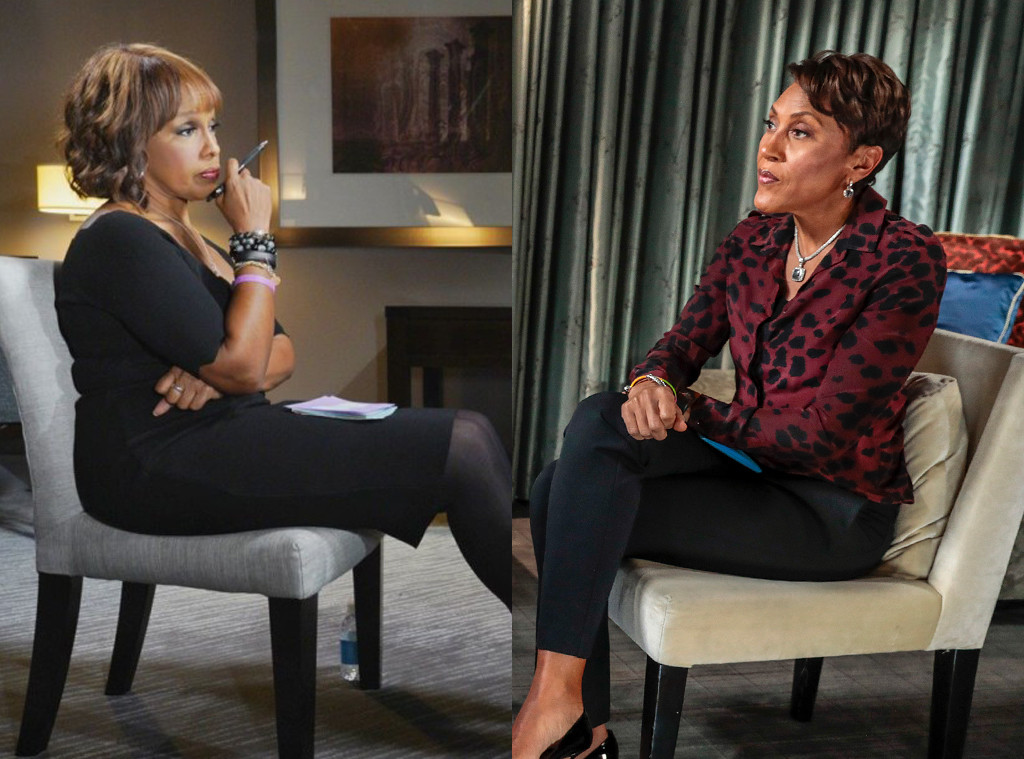Gayle King, Robin Roberts, Interview