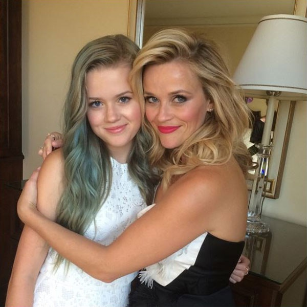 Ride or Die -  If you've ever wanted to see Witherspoon with blue locks then look no further!