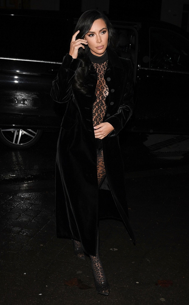 Kim Kardashian -  Lacey Leopard!