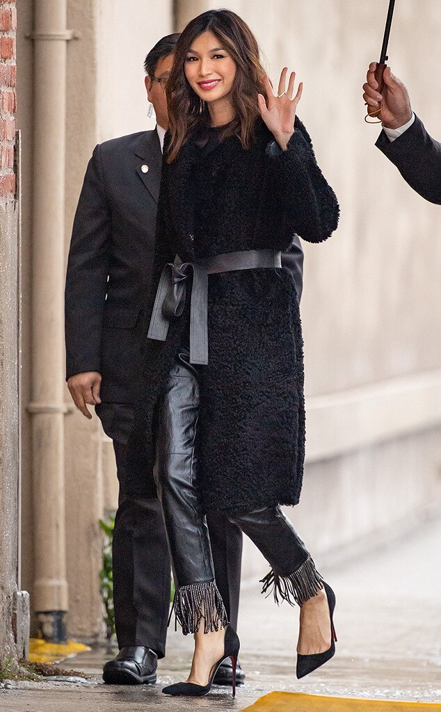 Gemma Chan -  Sleek style!
