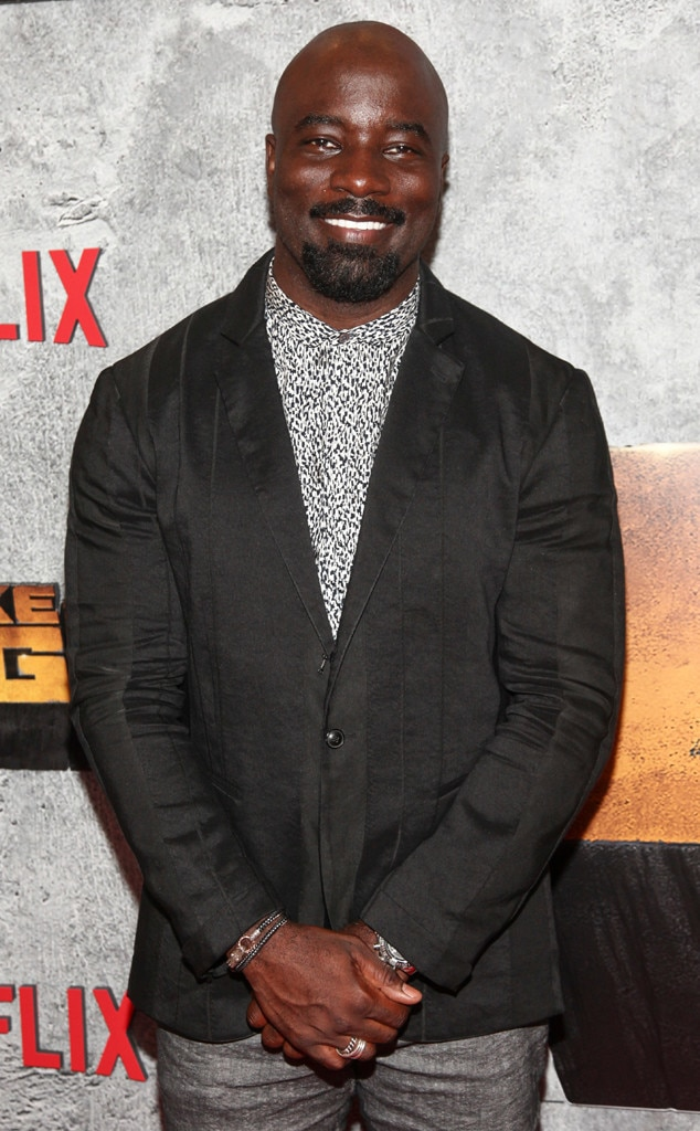 Mike Colter -  After the cancellation of  Luke Cage , Mike Colter's next big role is in the CBS pilot  Evil , from  Good Wife  creators Robert and Michelle King. The show is about the battle between science and religion and centers on a skeptical female clinical psychologist ( Katja Herbers ) who joins a Catholic priest-in-training (Colter) and a blue-collar contractor as they investigate supposed miracles, demonic possessions, etc etc to see if they can be explained by science or the supernatural.