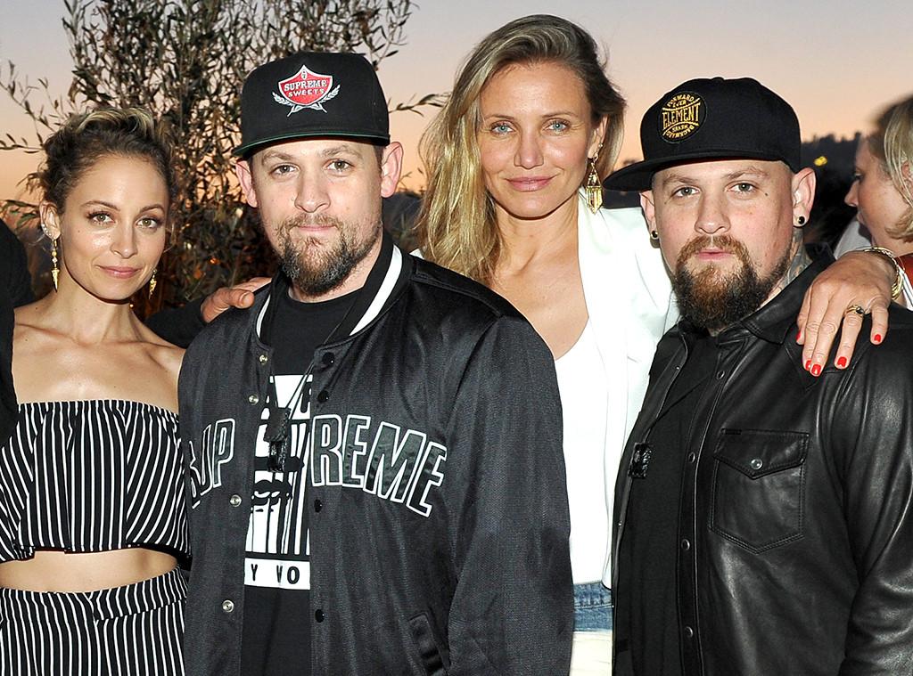 Joel Madden, Benji Madden, Nicole Richie, Cameron Diaz, Hollywoods best husbands