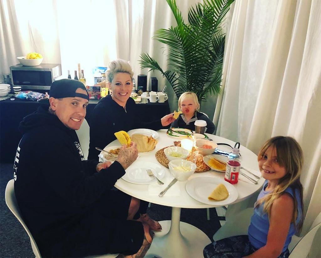 Pink, Carey Hart, Kids, Daughter, Willow, Son, Jameson, Tour