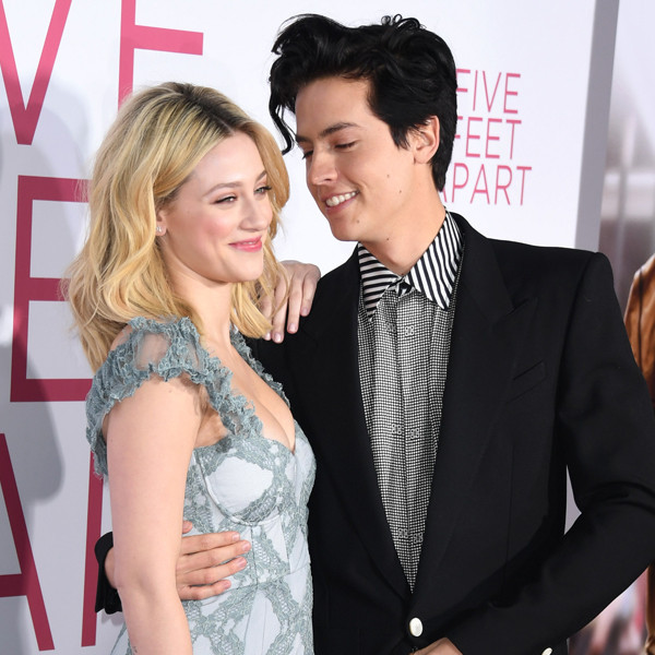 Lili Reinhart and Cole Sprouse Show PDA on Date and ''Are in a Great Place''