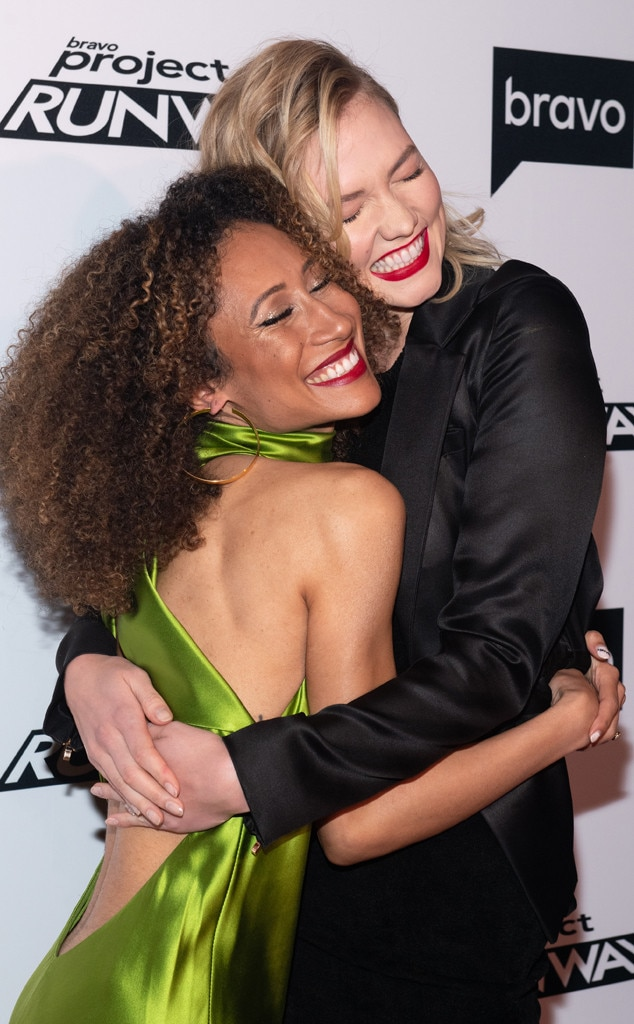 Elaine Welteroth & Karlie Kloss -  So excited!