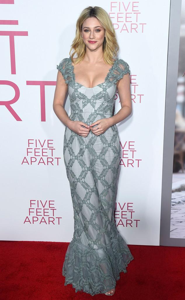 Lili Reinhart, Five Feet Apart Premiere