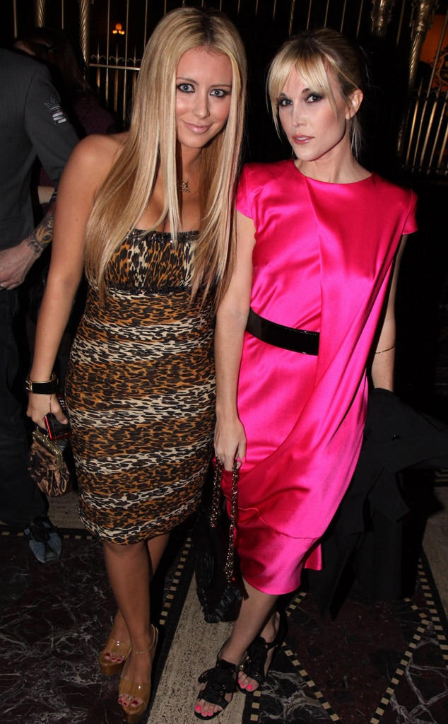 Aubrey O'Day & Tinsley Mortimer - The Danity Kane  singer and now star of Real Housewives of New York City  deliver a blast from Baby Phat's past in 2009.