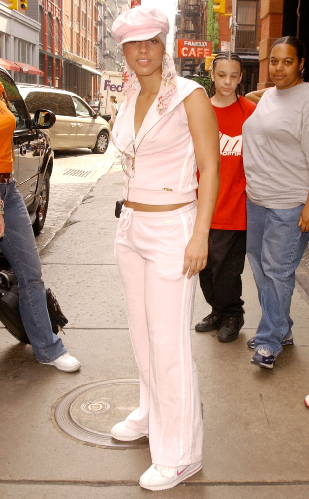 Alicia Keys -  Show us a more iconic look.