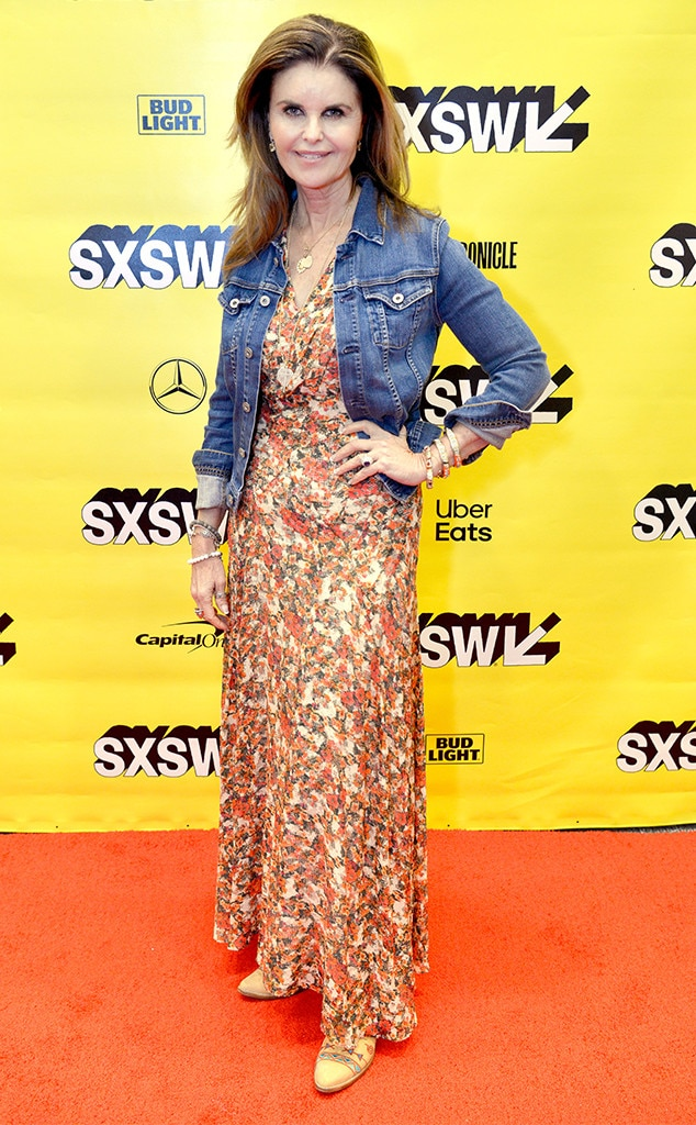 Maria Shriver -  The author and former First Lady of California mixes floral and denim during her session at SXSW.