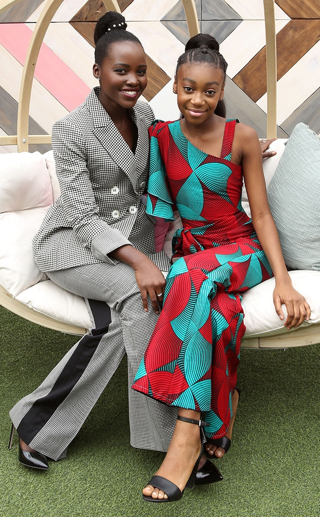 Lupita Nyong'o & Shahadi Wright Joseph -  The  Us  co-stars attend Twitter's #SheInspiresMe brunch during SXSW.