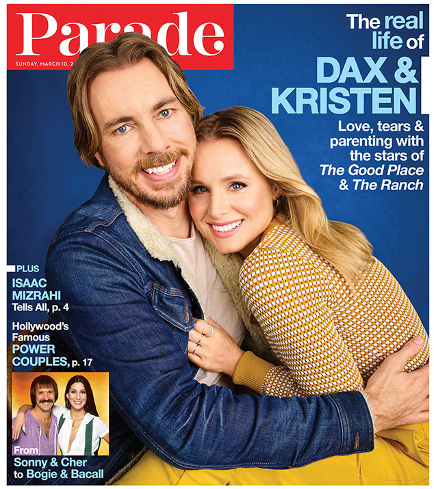 Kristen Bell, Dax Shepard, Parade, March 10, 2019 Cover