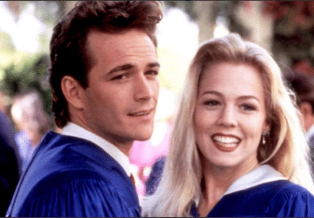 Jennie Garth, Luke Perry, Beverly Hills, 90210