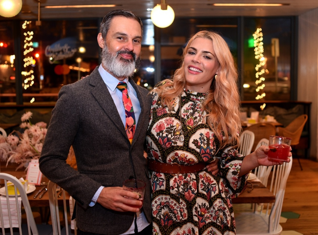Busy Philips & Marc Silverstein - It's date night for the Hollywood couple who steps out to attend Create & Cultivate and Mastercard's intimate dinner at Café No Sé.