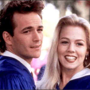 Jennie Garth, Luke Perry, Beverly Hills, 90210