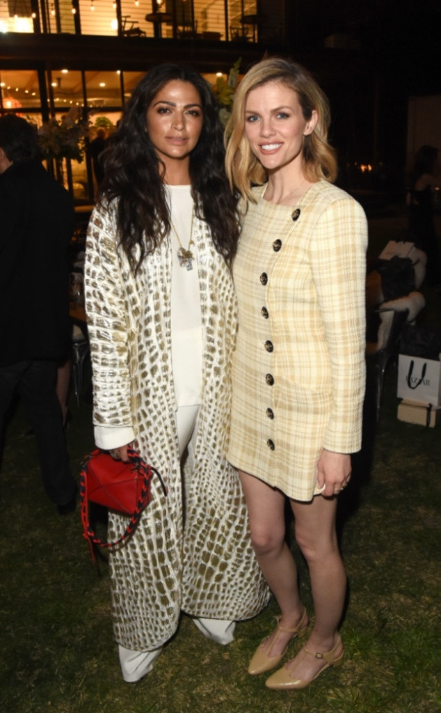 Camila Alves & Brooklyn Decker -  Funny seeing you here! The Hollywood stars reunite  at The Vision Council's 3-day eye health event at The Jane Club.