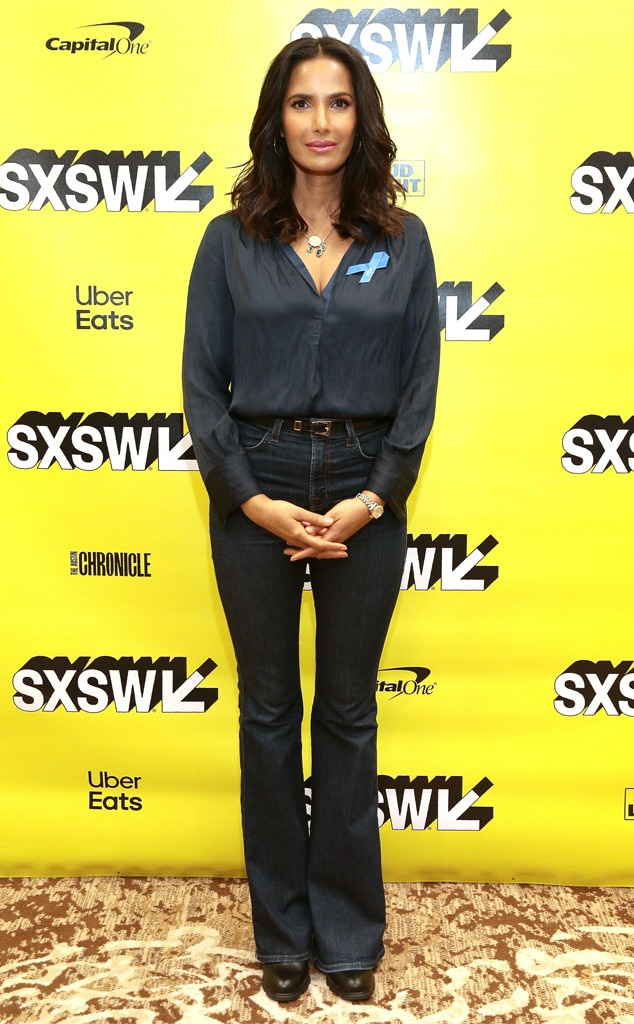 Padma Lakshmi -  The  Top Chef  host keeps it casual at her SXSW panel.