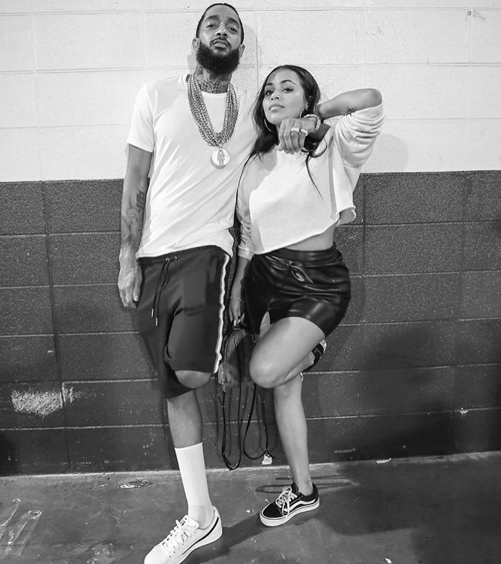 Lauren London, Nipsey Hussle