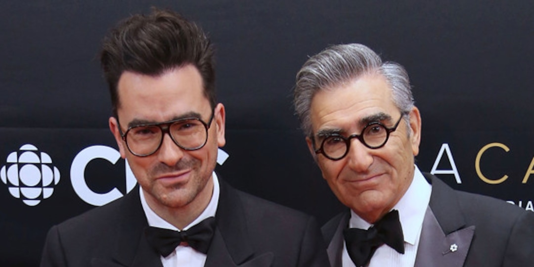 Dan Levy Hilariously Responds to Schitt's Creek Fan Who Falsely Mourned His Dad Eugene's Death - E! Online.jpg