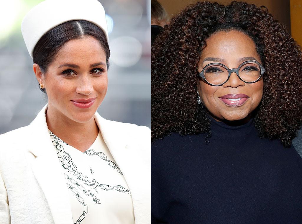 Meghan Markle, Oprah Winfrey