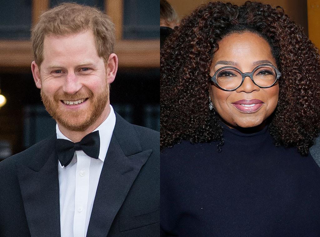 Prince Harry, Oprah Winfrey