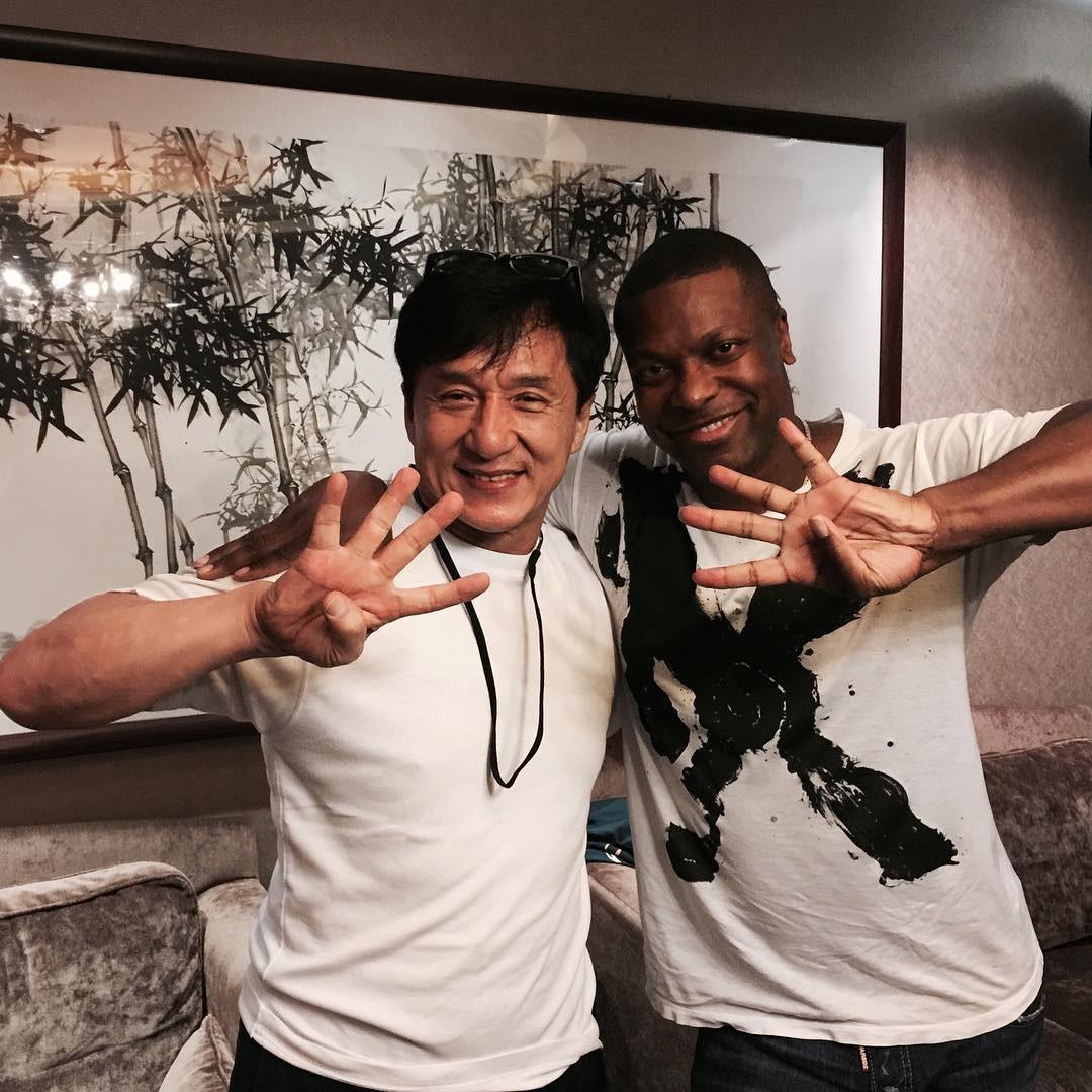 Jackie Chan, Chris Tucker, Reunion, Instagram