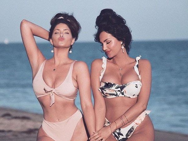 Bikini Babes! See Natalie Halcro and Olivia Pierson Sizzle in Sexy Bathing Suit Shots