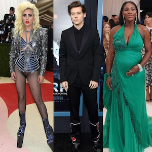 Lady Gaga, Harry Styles, Serena Williams