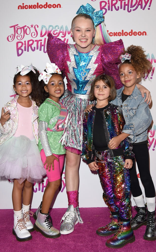 Ryan Romulus, North West, JoJo Siwa, Penelope Disick, JoJo Siwa Sweet 16 Birthday Celebration