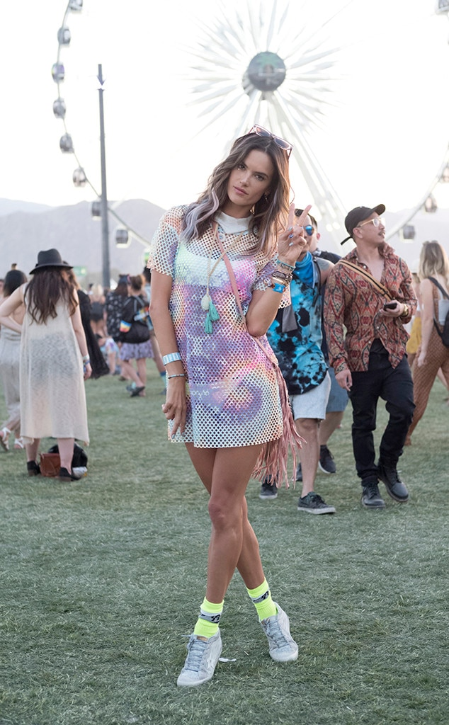 Alessandra Ambrosio, Iconic Coachella Looks