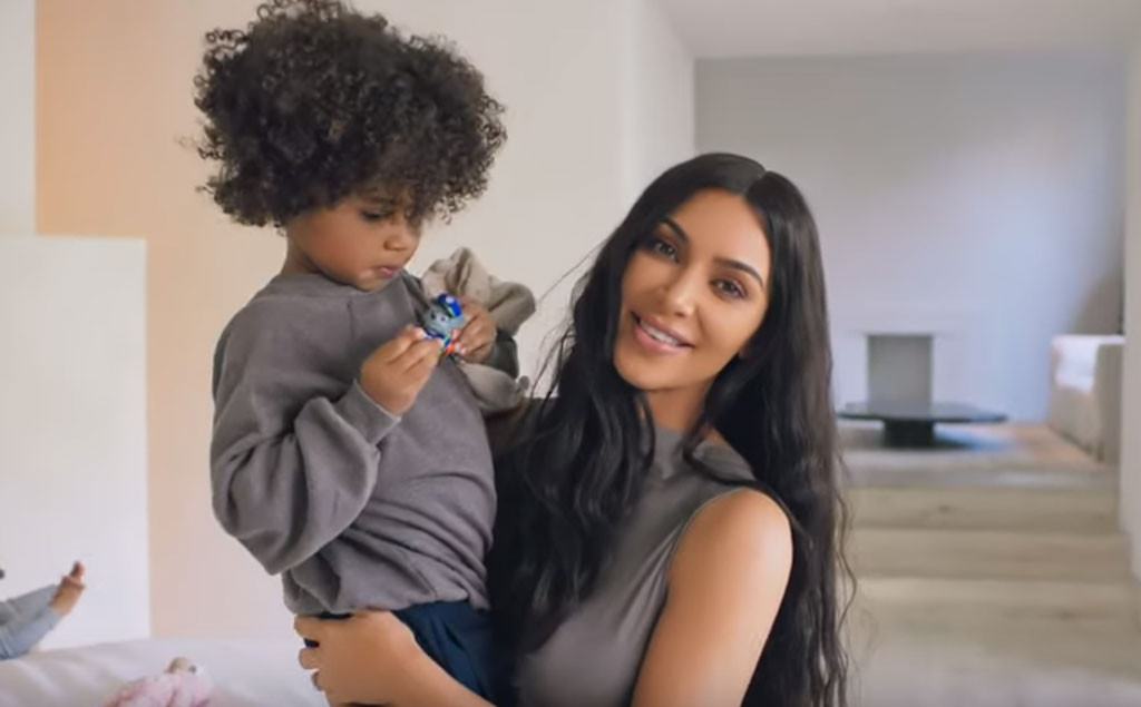 Kim Kardashian, Saint West, Vogue