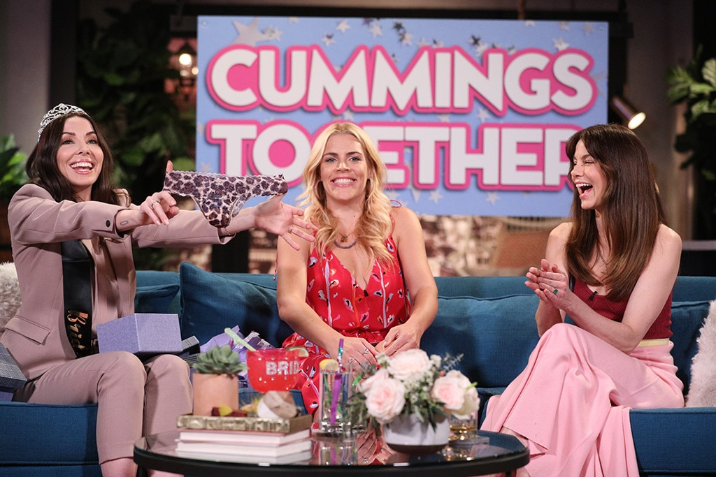 Whitney Cummings & Michelle Monaghan -  It's a Made of Honor  reunion ! The former film co-stars  throw newly engaged Whitney a  Busy Tonight  bachelorette party , complete with embarrassing panty gifts!