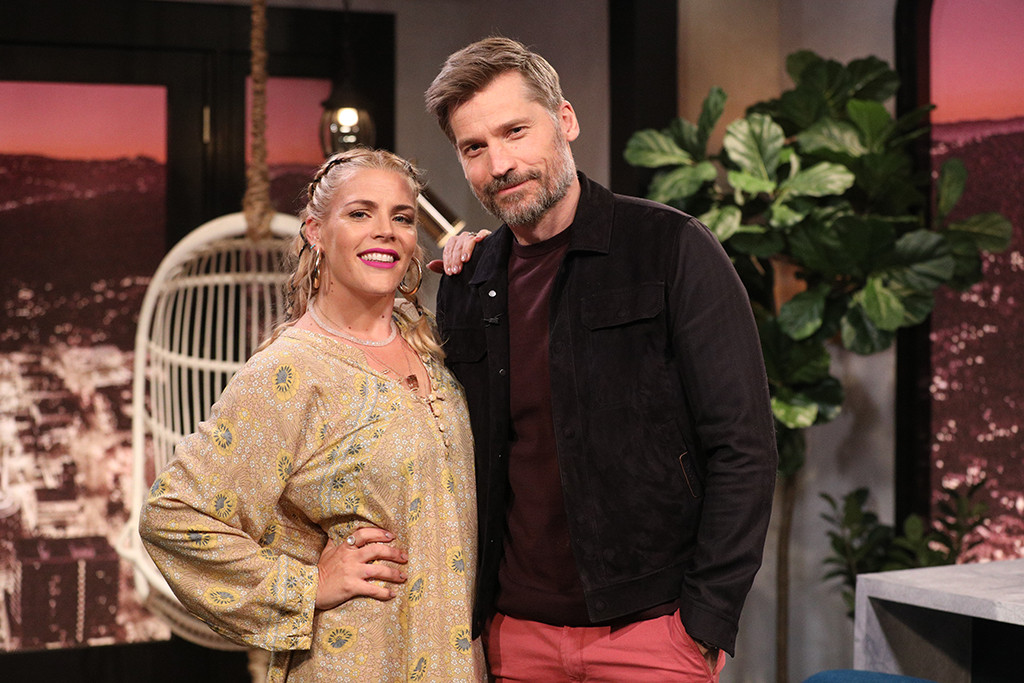 Busy Philipps, Busy Tonight, Nikolaj Coster-Waldau