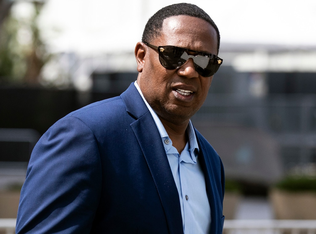 Master P -  The rapper and actor is photographed at the Staples Center for the celebration of life.