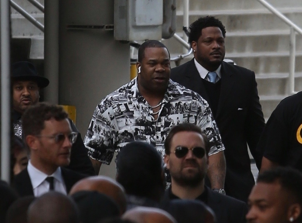 Busta Rhymes -  The rapper is photographed at the Staples Center on April 11.