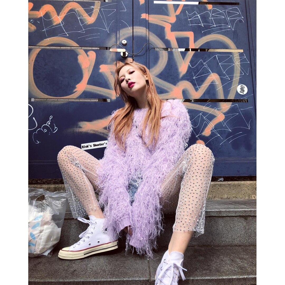 Hyun Ah, K-Pop Idols, Purple