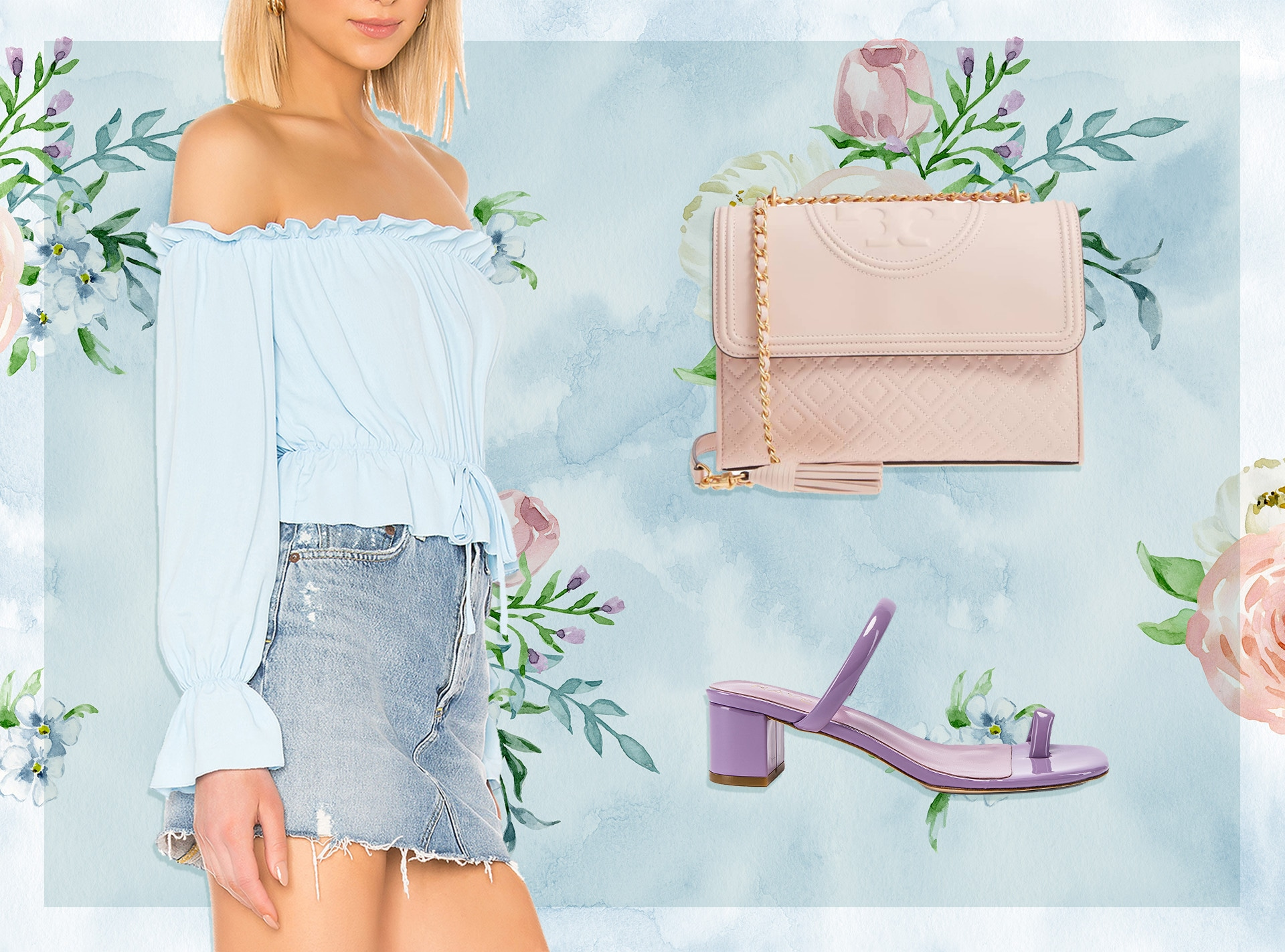 E-Comm: Pop of Pastel for Spring