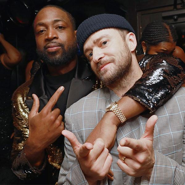 Dwyane Wade, Justin Timberlake
