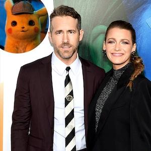 Ryan Reynolds, Blake Lively, Detective Pikachu