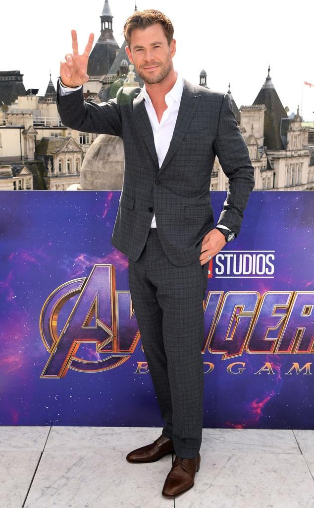Chris Hemsworth -  Hello from London!