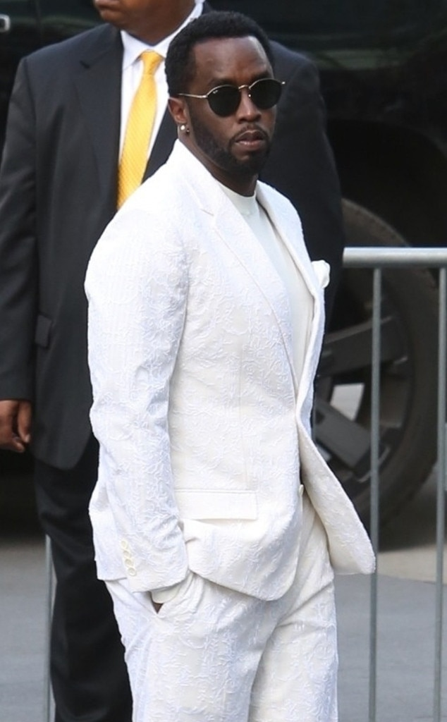 "Sean ""Diddy"" Combs -  Diddy, who recently  paid tribute  to the late rapper, arrives to the Staples Center for the celebration of life."