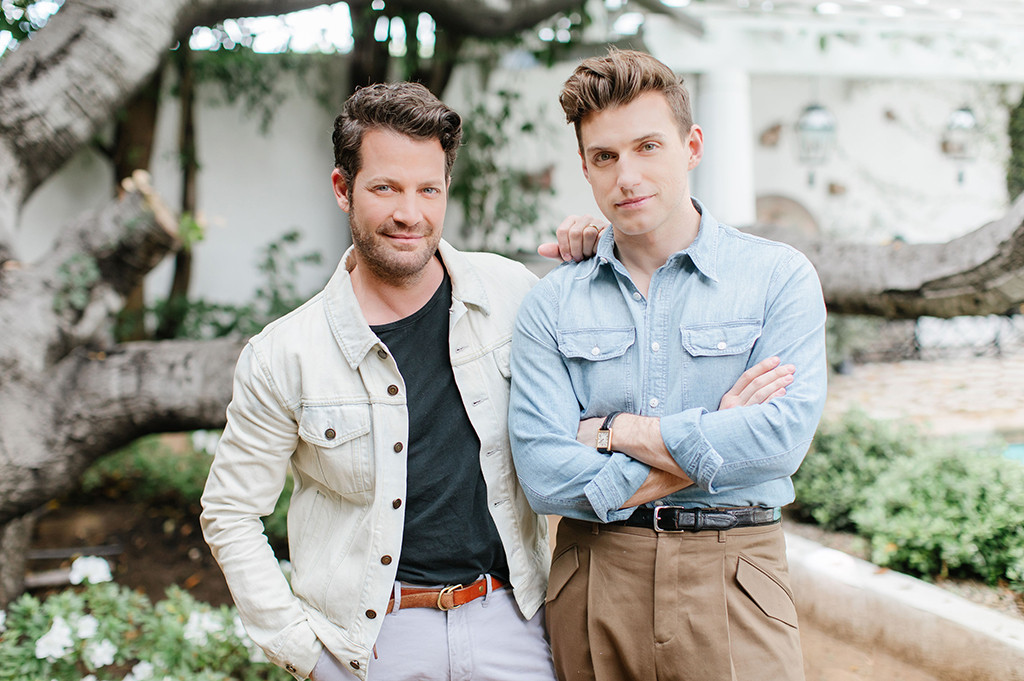 aw nate berkus and jeremiah brent get real about life. Black Bedroom Furniture Sets. Home Design Ideas